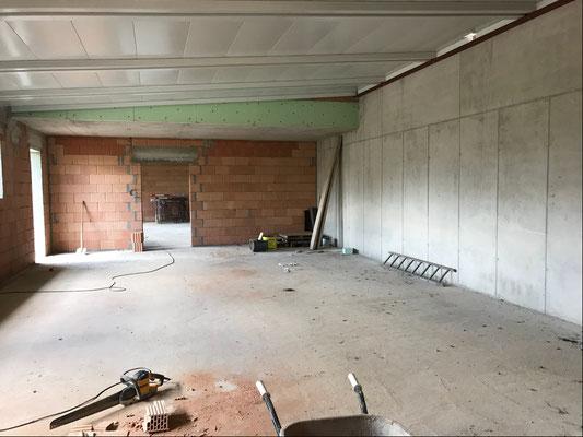 31.07.2018 - Der zukünftige Sortierraum