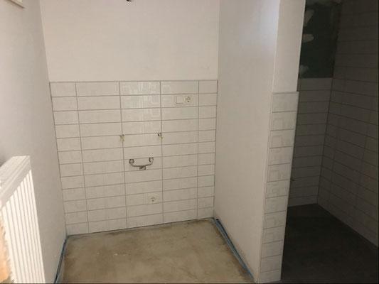19.01.2019 - Das WC für die ehrenamtlichen Tafelhelfer.