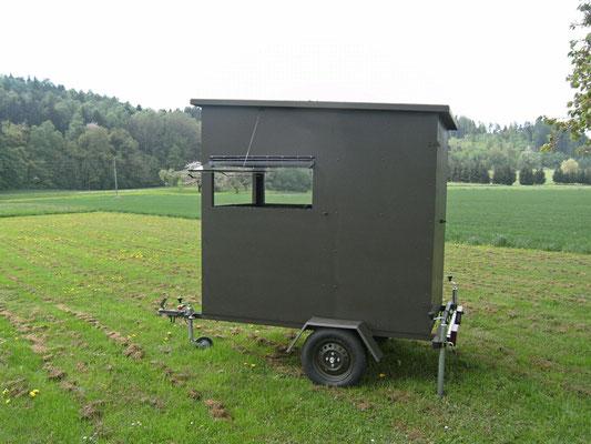 Sedlmaier Revierbedarf, Mobile Schlafkanzel, Jäger, Jagd, Wild, Wald
