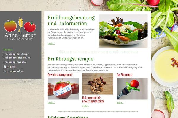 Homepage Webdesign - Grafikdesign + Webdesign   Sonja Fischpera