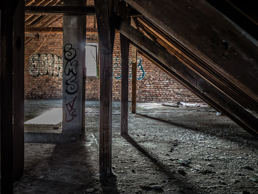 Lost Places - Dachboden