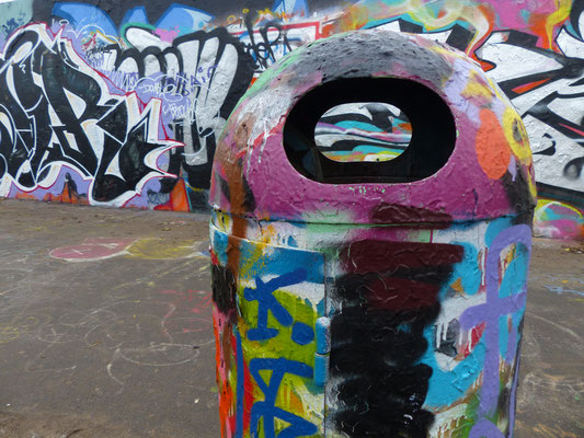 Durchblick am Mauerpark (Berlin)