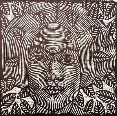 mattroussel_gravure_sur_bois-femme 110€ -20x20cm