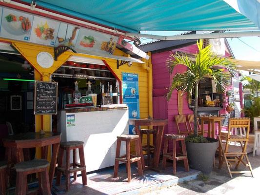 Restaurant de plage de Sainte-Anne Guadeloupe