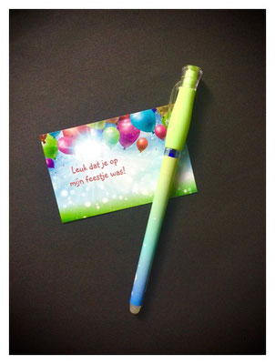 uitwisbare pen