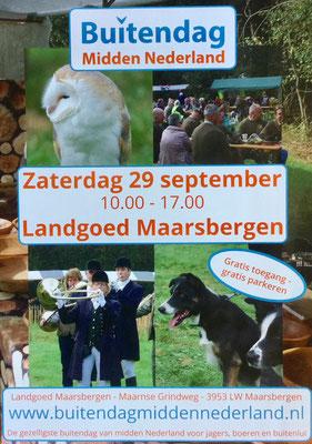Buitendag Midden-Nederland Landgoed Maarsbergen 2018