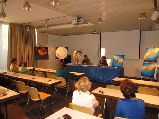 Mari Luz, Presidente dell'Associazione presenta Gloria