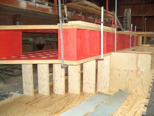 Produktion Treppenhaus neo_leo