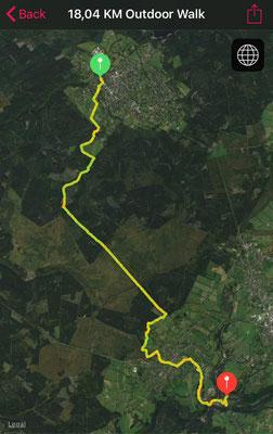 18 km von Roetgen bis Monschau