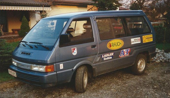der EVR hatte für kurze Zeit ein eigenes Vereinsauto