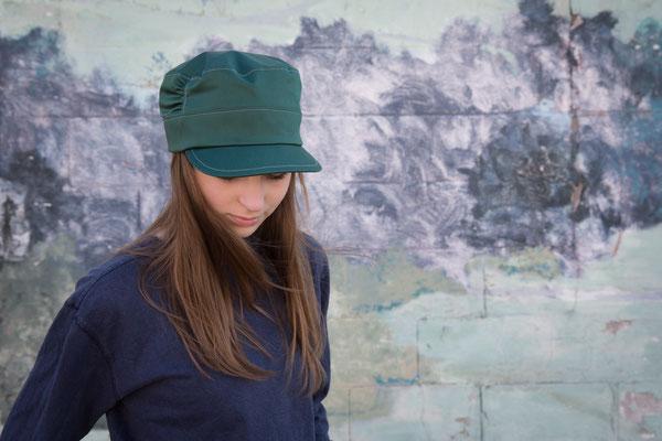 Mütze Jade von Silvia Bundschuh Hutdesign, Hamburg