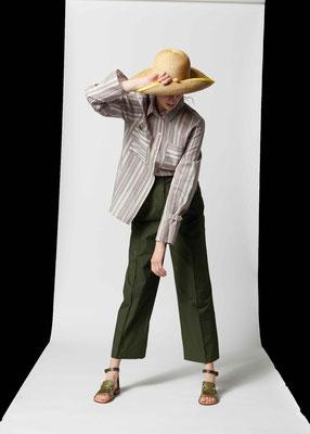 Strohhut Amarillo, Silvia Bundschuh Hutdesign, Hamburg, Sommerkollektion 2021