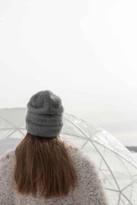 Angoramütze Viola, malachit, Silvia Bundschuh Hutdesign, Hamburg, Winterkollektion 2020, Beanie
