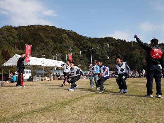 鯛伊食祭:パン食い競争