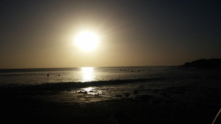 Sunset in Dakar