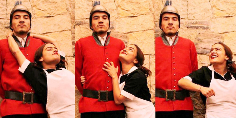 Ester Tulia de la Banda Francotiradores (Imitación-Géneros)