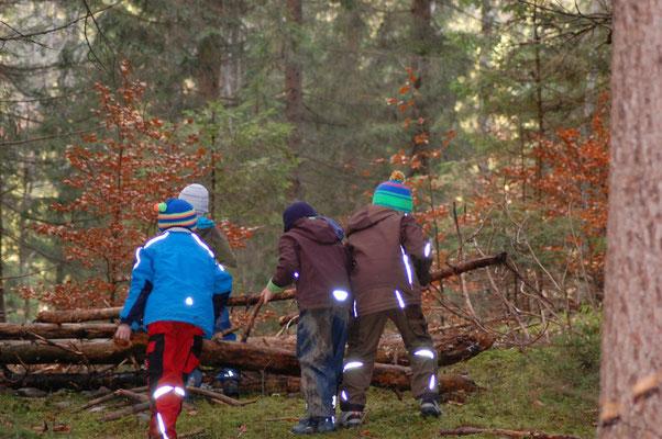 Wildnisschule-Naturerlebnis für Grundschüler /www.wildnisgeist.de