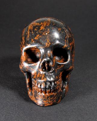Schädel Obsidian