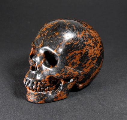 Skull Mahagoni Obsidian