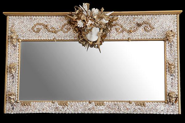 """Miroir """" Vénus"""" ( H 00 cm X L 00 cm ) Nidpie Créations."""