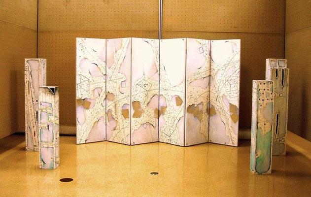 福島現代美術ビエンナーレ 2008 展示風景(福島県文化センター)