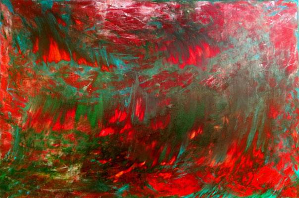Luzifer / Acryl auf Leinwand / 80 x 120 cm