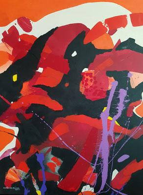 Special moods / Acryl auf Leinwand / 80 x 60 cm