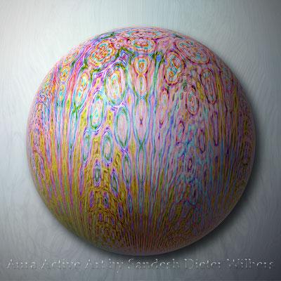 116 Perle 4 h H 2015  60x60 cm