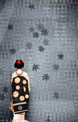 Geisha Gesture C - neu 2016  35x55 cm