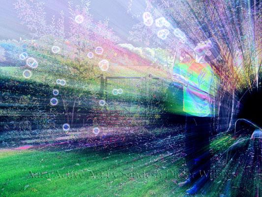 038 Hendrick's magic blow neu 1 H 2015  80x60 cm