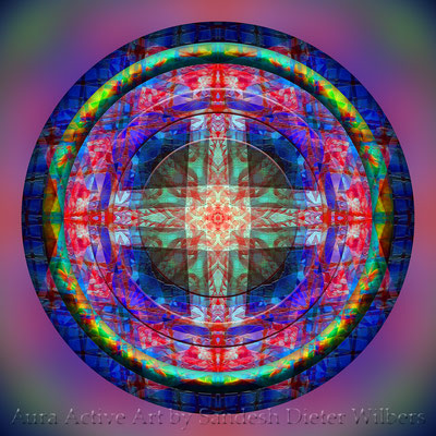Mandala - Japabima Cross Culture - 3xxxy -F37 +S23 n 60x60 cm