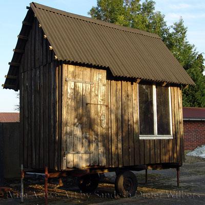 Wohnwagen 80x80 cm