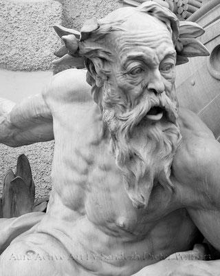 Poseidons Erstaunen - Wien  40x50 cm