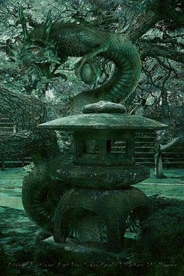 Spirit of the Garden Dragon - Xn 40x60 cm