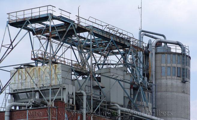 Ein Stück Hafen Industrie 115x70 cm
