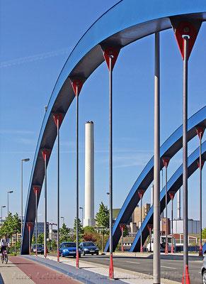 Brücke Albersloher Weg  Münster 55x40 cm