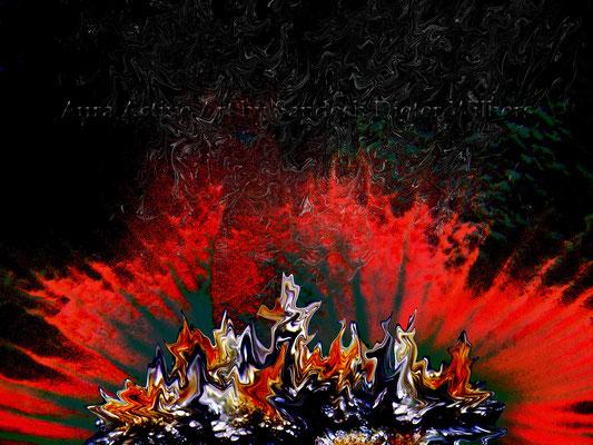 Feuertanz - neu b Feb 2010  80x60 cm