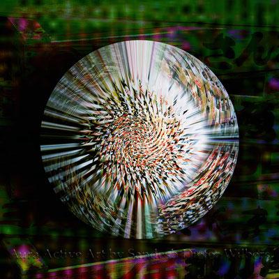 Obstkisten Mandala 2 - neu H  2015  60x60 cm