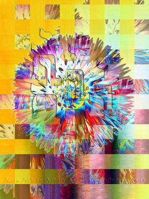Präsenz im Licht 60x80 cm