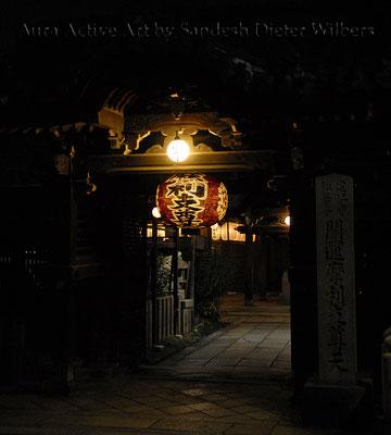 Nacht in Gion/Kyoto  45x50 cm