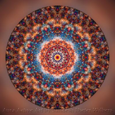 Mandala - Japabima Rust - basis 1cx 6 n 60x60 cm