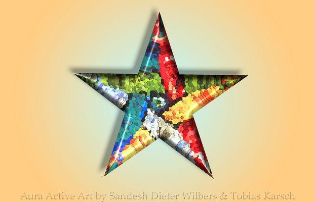 3 Der Stern 56x36 cm