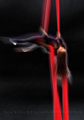 Akrobatik 6  70x100 cm