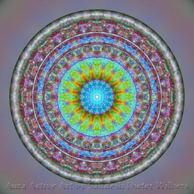 Mandala - Japabima Cross Culture - 2 3xy6dxy F-160 FB n 60x60 cm