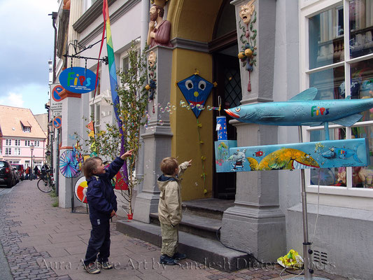 Fips - Kinder - Freude & Begeisterung  80x60 cm