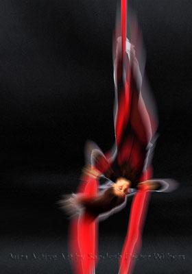 Akrobatik 4  70x100 cm