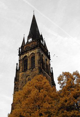 Kirchturm Ascheberg - neu  55x80 cm