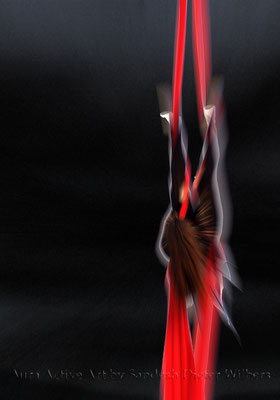 Akrobatik 8  70x100 cm
