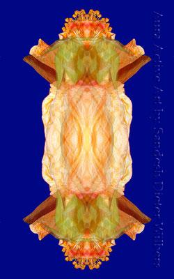 075 Hibiskuslampe 50x80 cm