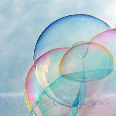 Seifenblasen - lumn farbk 2  50x50 cm